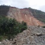 Landslide at Cikangkareng.