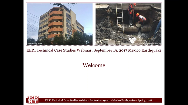 Mexico Earthquake Webinar