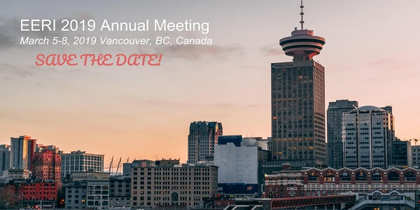 Save the Date! EERI 2019 Annual Meeting