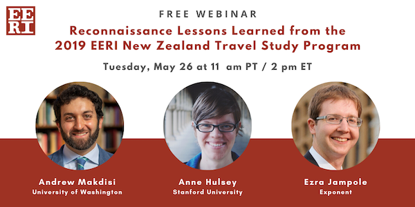 Reconnaissance Lessons Learned from the 2019 EERI New Zealand Travel Study Program
