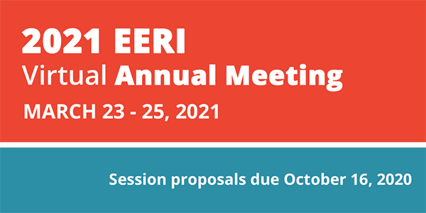 2021 EERI Annual Meeting: Call for Session Proposals