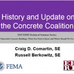Update on Vulnerable Concrete Buildings: What You Need to Know and Where Should We Go from Here? – Concrete Coalition Update by C. Comartin & R. Berkowitz (Video Download)