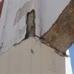 structural damage caused by earthquake