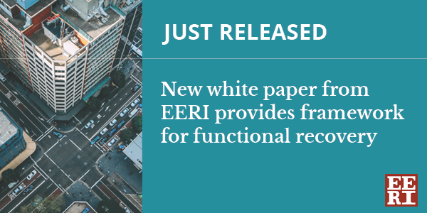 EERI releases white paper on functional recovery