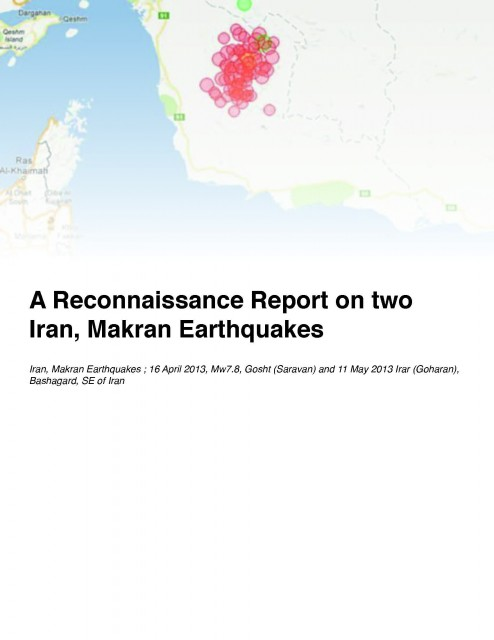 Iran Report cover
