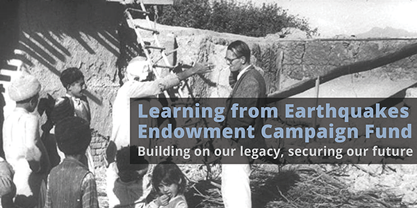Pledge to the Learning from Earthquakes Endowment Fund