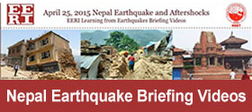 Nepal Earthquake Briefing Videos