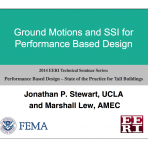 Performance Based Design: State of Practice for Tall Buildings- Using Ground Motions and SFSI by M. Lew (Video Download)