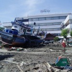 Banda Aceh – Boats Dragged by Floating / Buoyancy