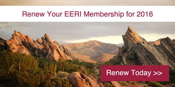 Renew Your EERI Membership