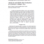 ASCE-41 and FEMA-351 Evaluation of E-Defense Collapse Test