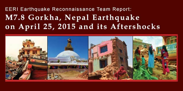 Nepal Earthquake Reconnaissance Team Report