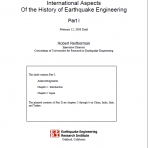 International Aspects of the History of Earthquake Engineering: Part 1