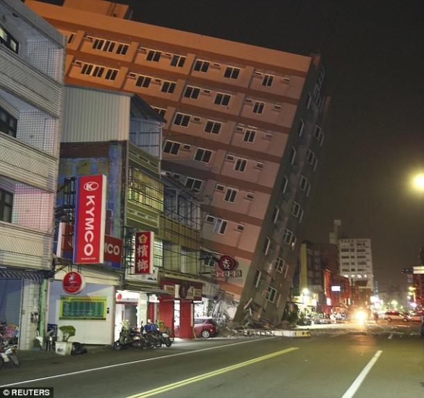 Tainan, Taiwan. Reuters photo