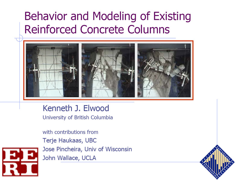 Component Behavior and Modeling-Columns (VIDEO DOWNLOAD)