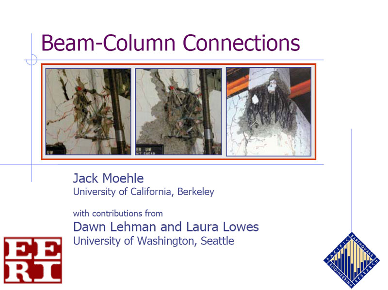 Beam-Column Connections (VIDEO DOWNLOAD)