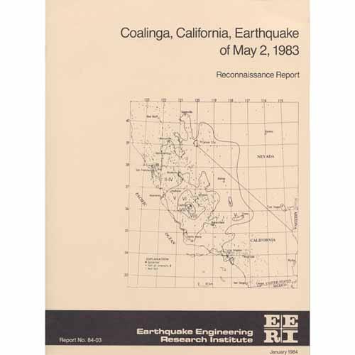 The Coalinga, California, Earthquake of May 2, 1983