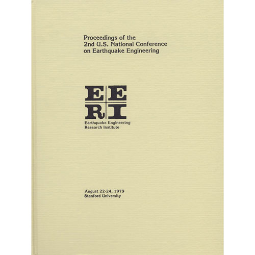 2nd U.S. National Conference on Earthquake Engineering
