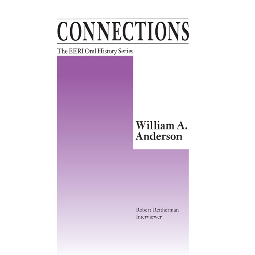 William A. Anderson, Oral History Series Vol. 19