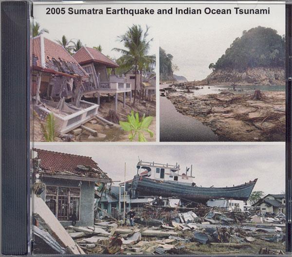 Image/Video CD: 2004 Sumatra Earthquake and Indian Ocean Tsunami CD-ROM