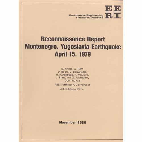 Montenegro, Yugoslavia, Earthquake of April 15, 1979