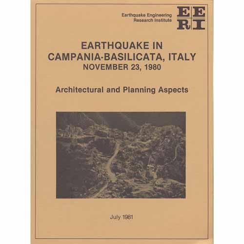 Earthquake in Campania/Basilicata, Italy, Nov 23, 1980-planning aspects