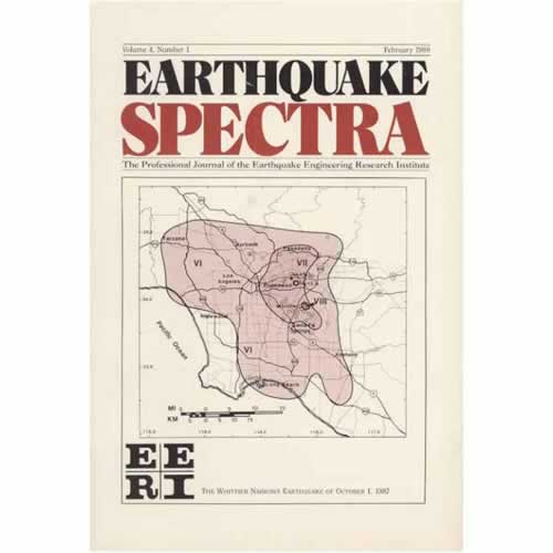 ES 04:1 (Feb 1988) The Whittier Narrows, CA, Earthquake of October 1, 1987.  Part 1