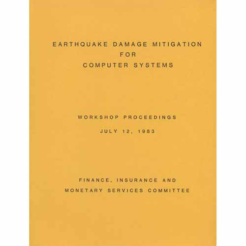 Earthquake Damage Mitigation for Computer Systems