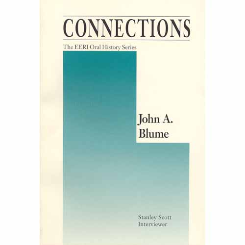 John A. Blume, Oral History Series Vol. 2